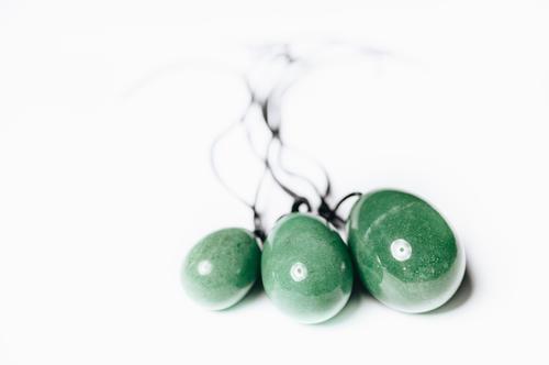 Yoni vajíčko zelený Avanturín