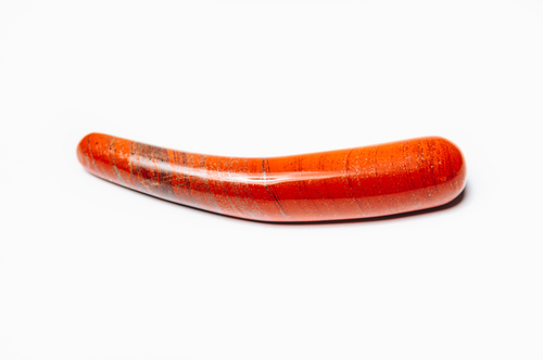 Dildo Jaspis červený Bent